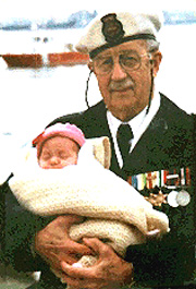 Alan and Granddaughter in 1998