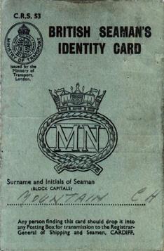 Charlie Mountain's Identity Card