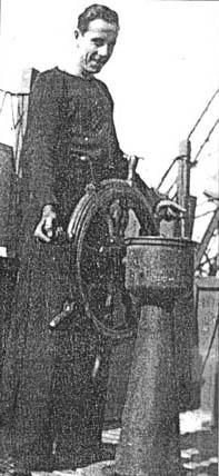 Hamor Gardner at Wheel